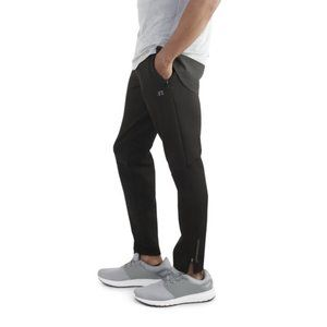Russell Athletic Slim Knit Pant in Black - XL